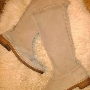 Kate Spade suede boots